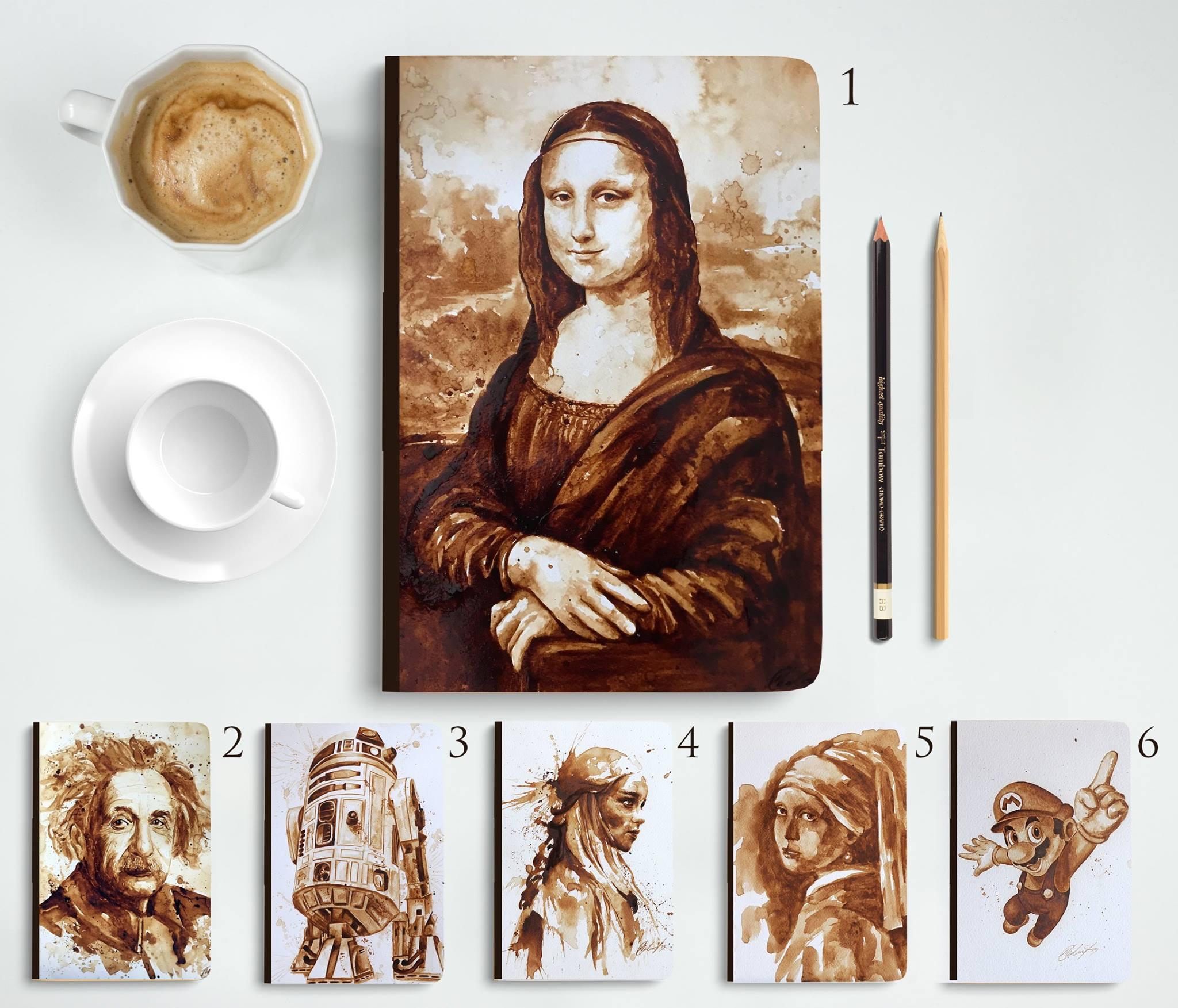 kávé és a művészet