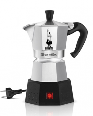 bialetti elettrika elektromos kotyogós kávéfőző