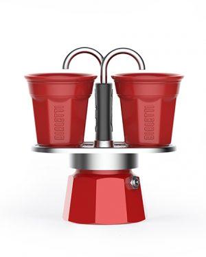 bialetti mini express szett kotyogós kávéfőző