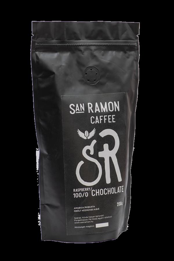 San Ramon Caffee - Raspberry-Chocholate - Arabica ízesített kávé
