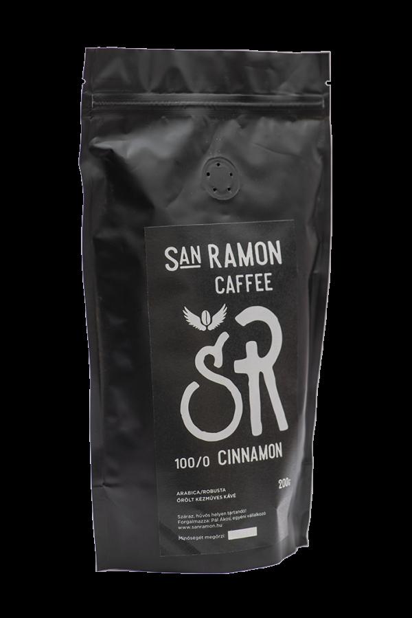San Ramon Caffee - Cinnamon - 100 Arabica ízesített kávé