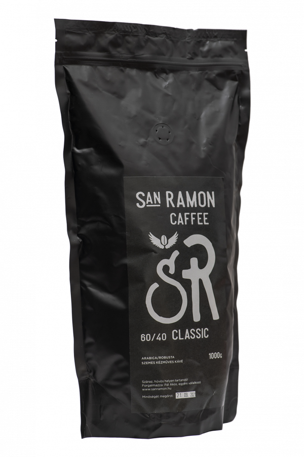San Ramon Caffee - Classic - 60% Arabica 40% Robusta kávé