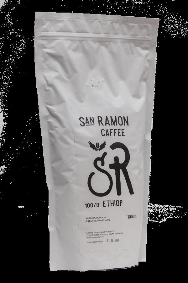 San Ramon Caffee Ethiop 100% Arabica kávé